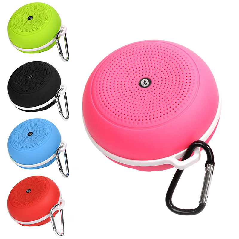 2017 New Fashion Outdoor Portable Bluetooth Speaker 4.1 stereo sound box wireless speaker bluetooth sport for IOS Andriod Mobile