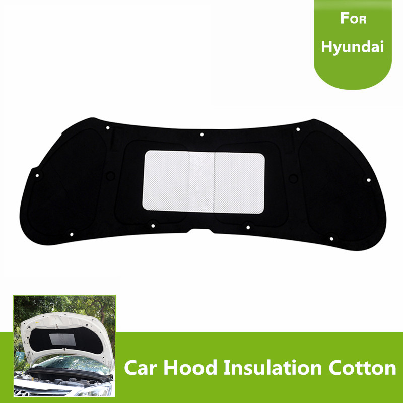 New Car Hood Turbo Exhaust Muffler Insulation Cotton Heat Shield Engines Mat Pad for Hyundai VERNA 2010 2013 2014