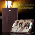 Newest PU Leather Stand Case Cover For Samsung Galaxy Tab S2 8.0 SM T710 T715 T715N Tablet Shell Case Free shipping
