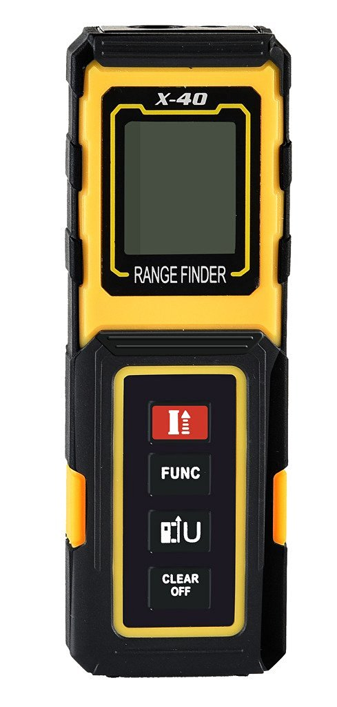 ФОТО AMYAMY Laser Distance Measurer with 131ft(40m) range and Pythagorean Mode