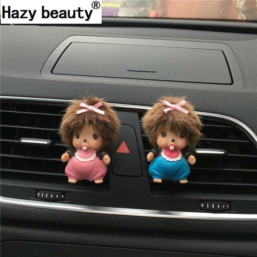 Туманно красоты пчелы автомобиля духи Освежители воздуха на выходе украсить Тюнинг автомобилей парфюмерия духи 100 оригинальный аромат