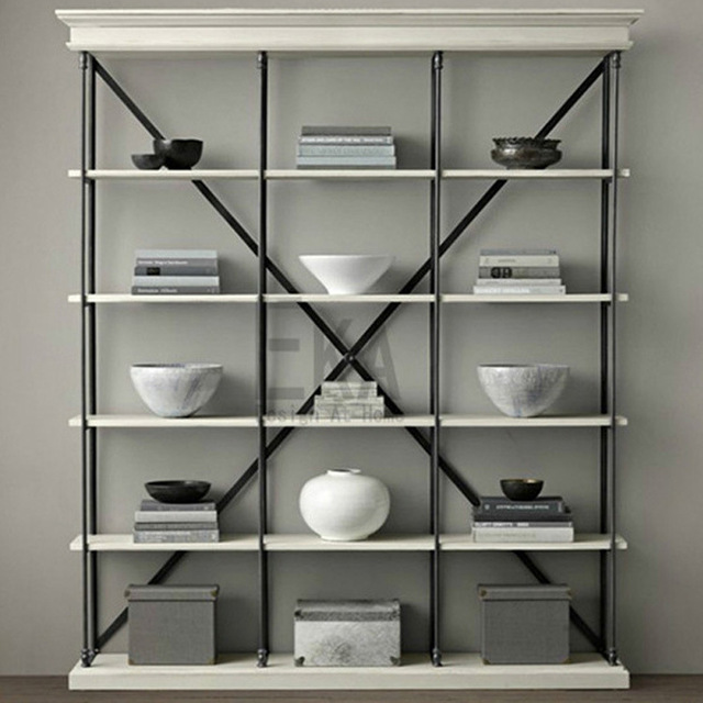 zhengtian home chinese style home study large multi bookcase bookcase bookshelf classic cafe decoration - Multi Cafe Decoration