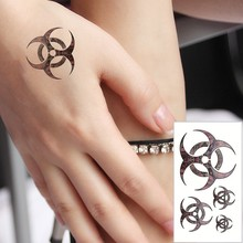 Flywheel Tattoo Stickers Waterproof Refers To The Temporary Body Tattoo Sticker Art