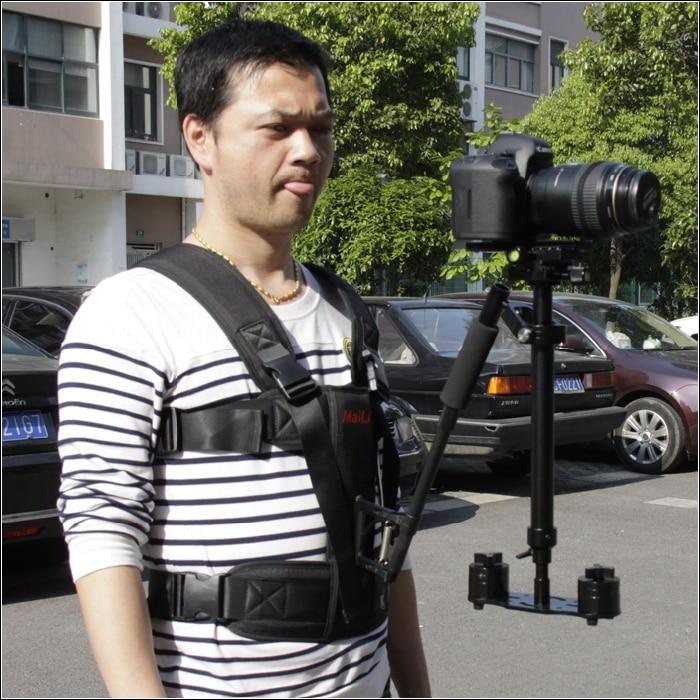 60cm s60 luminum video camera Stabilizer for canon 5d iii dslr steadicam for camcorder DV DSLR
