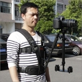 60 cm s60 luminum cámara de vídeo estabilizador para canon 5d iii DSLR steadicam para digital videocámara DV DSLR de mano steady cam cámaras