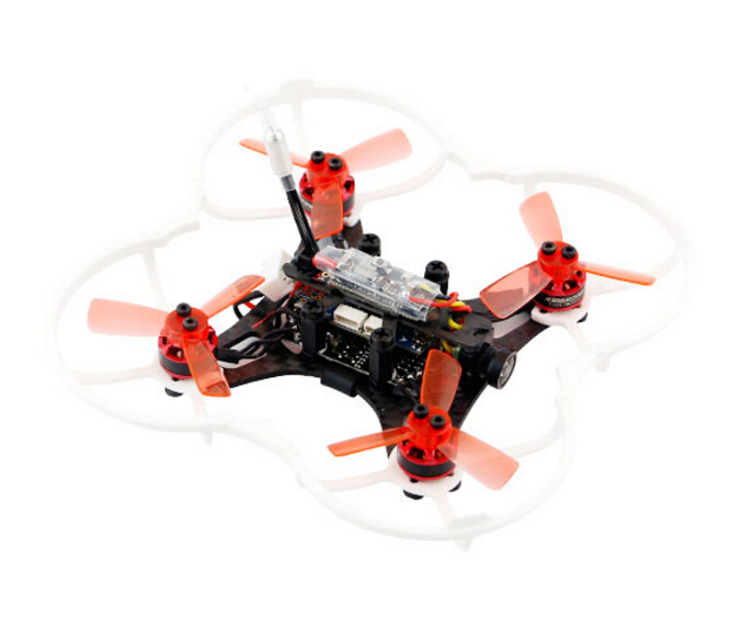 90GT PNP Brushless FPV Drone Mini Quadcopter With FRSKY AC800 Receiver KingKong Drone kingkong 90gt 90mm brushless mini fpv racing drone with micro f3 flight controll 16ch 800tvl vtx forbnf rtf with frsky x7 x9d