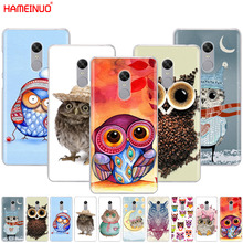 HAMEINUO colorful owls Cover phone Case for Xiaomi