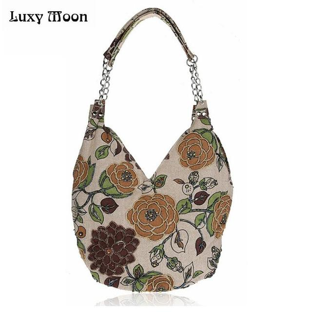 Casual bag for daily use lily handmade Embroidery women bags national evening bag women handbags monther shopping bag 2516