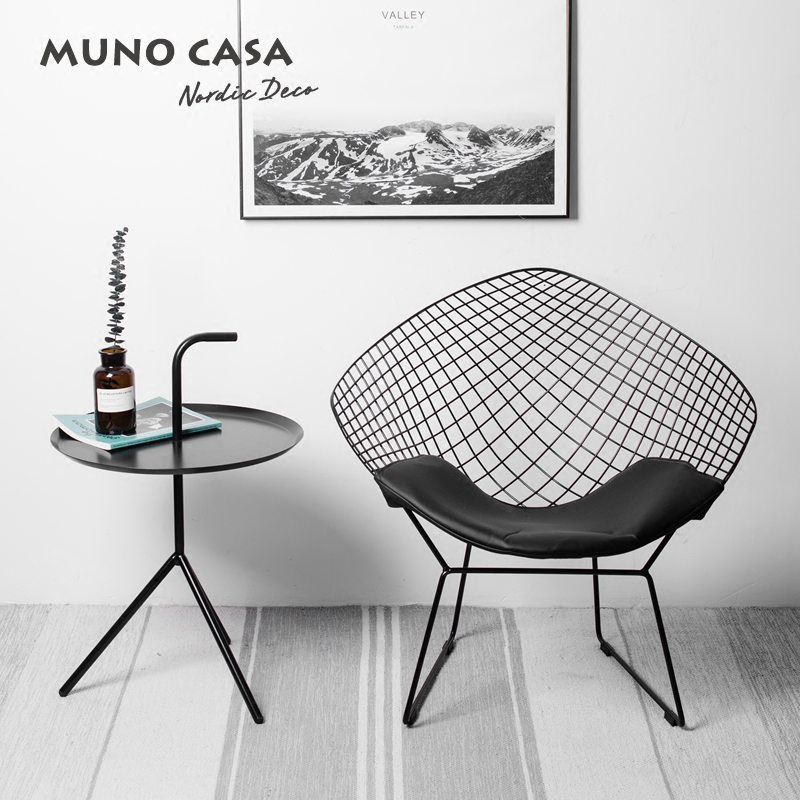 Free shipping U-BEST Modern Design Loft Diamond Bertoia wire chair, Living room diamond lounge chair free shipping single chair modern design classic simple design genuine leather chair with stainless steel sofa legs chair