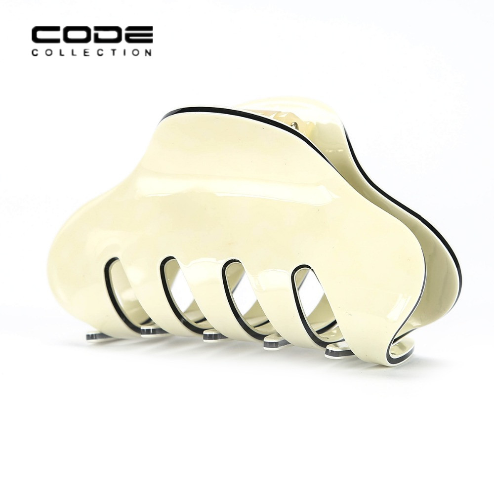 2pcs set High quality brand Hair Clip fashion Acrylic Hair Claw Candy colors hair accessories for women simple hair crab clamp in Women 39 s Hair Accessories from Apparel Accessories