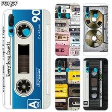 Funda Soft Hull Shell Case For Huawei Nova 2 Plus 2S 3 3i 4 TPU Printed Pattern Riverdale Cover Vintage Tape Camera Gameboy