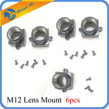 6PCS Metal M12 Lens Mount MTV Security CCTV Camera m12 Lens Holder Bracket Support Board Module Screw Spacing Adapter Connector