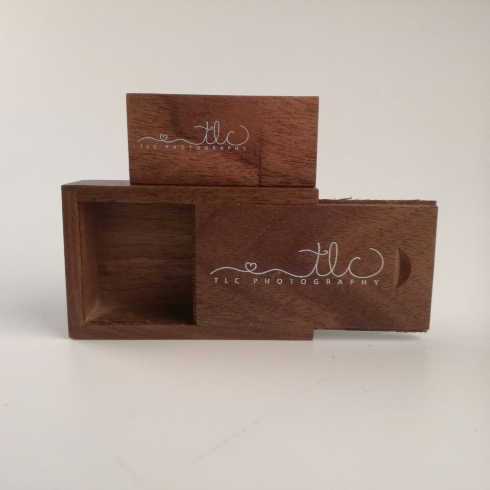 Custom Wooden Wood Walnut Usb Natual Box Usb 2.0 Memory Flash Stick Pen Drive (Over 30 Sets,.free Oil Printing) ...
