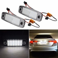 2x 18LED Number License Plate Light Lamp For Hyundai TA YF 10MY Car Styling