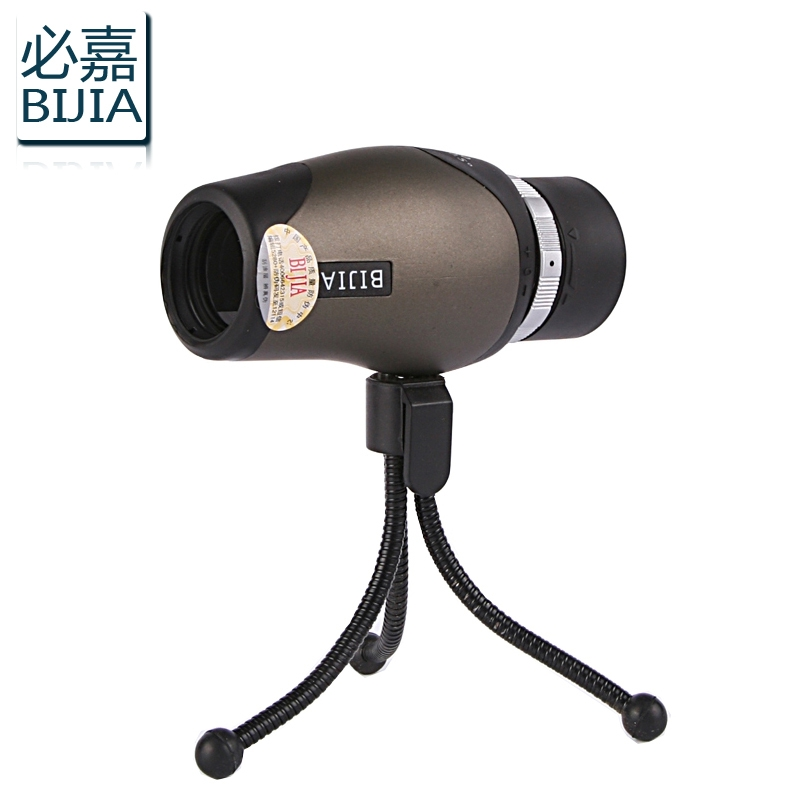 Bijia Monocular 10x30 High Definition Pocket-size Telescope With Tripod monocular 10x magnifications non-infrared night vision 10x zoom telescope lens with tripod