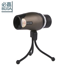 Cheapest prices Bijia Monocular 10×30 High Definition Pocket-size Telescope  With Tripod monocular 10x magnifications non-infrared night vision