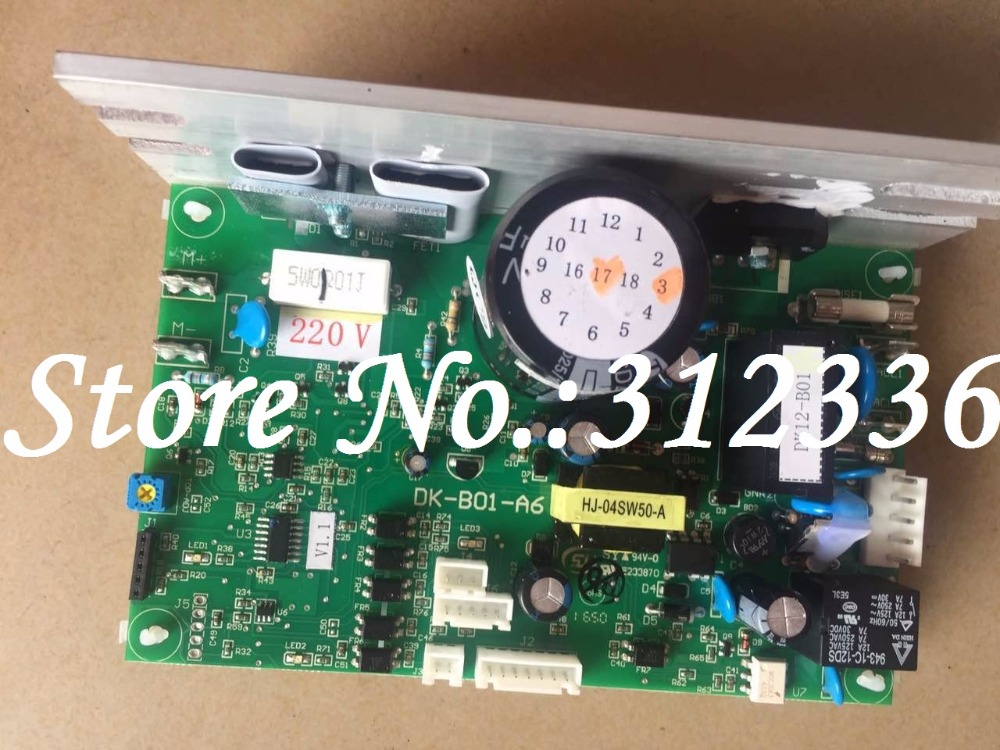 Free Shipping DK-B01-A6 DK12-B01 Motor controller optimal health treadmill circuit board motherboard instead of DCMD57 DCMD67 free shipping motor controller control board optimal step health circuit board motherboard running machine accessories