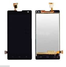 For Huawei Honor 3C LCD Assembly Full New LCD Display + Touch Screen Assembly For Huawei G740 5.0′  Fast Shipping Black