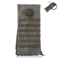 Outdoor Camping Military Tactical Mochila Hydration Bag Water Backpack Camelback Camel Soft Water Bladder Bag With Molle 2.5L