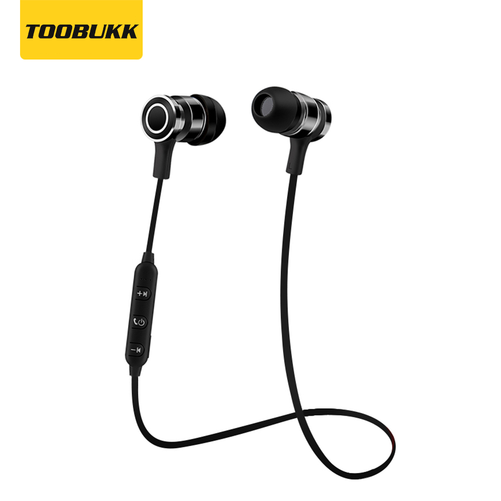 S6 Wireless Bluetooth Earphones Sport Running Headset With Mic Handsfree Metal Earbud For iphone Xiaomi Samsung Mobile Phone remax t9 mini wireless bluetooth 4 1 earphone handsfree headset for iphone 7 samsung mobile phone driving car answer calls