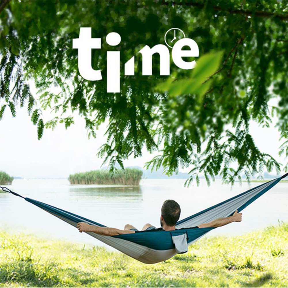 NatureHike Ultralight Hammock Outdoor Camping Hunting Hammock Portable Double person HAMMOCK NH17D012-in Outdoor Tools from Sports & Entertainment