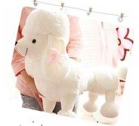 عظمى! 35 سنتيمتر حجم كلب الراعي الكلب أفخم لعبة دمية دمية الإبداعية هدية عيد الإناث الشحن المجاني