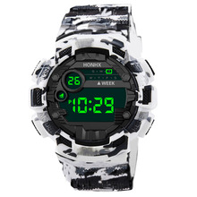 HONHX Fashion Sport Watch Men Outdoor Digital Watches LED Mi