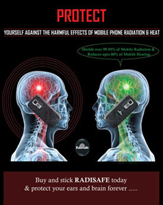 Image 3 - 2019hot product realy work have test by Morlab lab shiled Radisafe 99.8% NHF Radi Safe anti radiation sticker 20pcs/lot