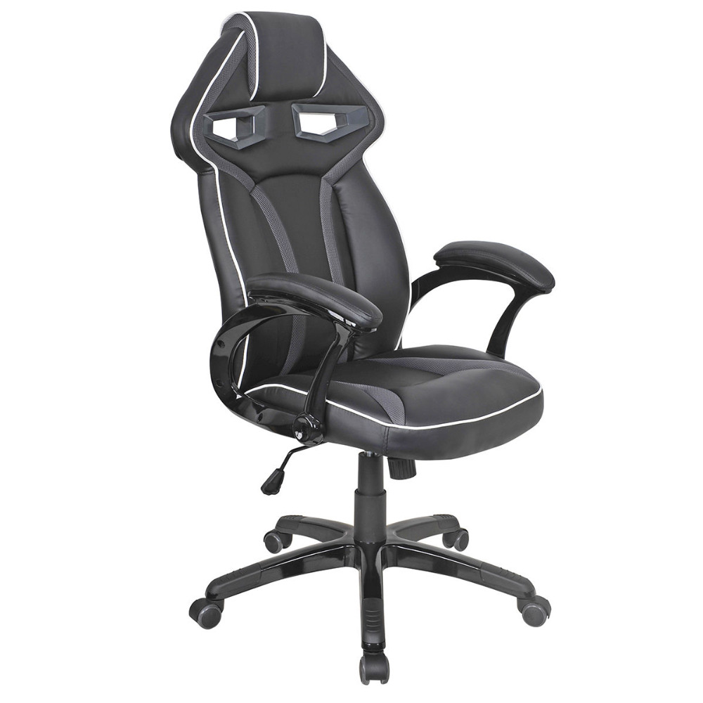 Racing Bucket Seat Office Chair High Back Gaming Chair Desk Task Ergonomic New HW54987GR 240340 high quality back pillow office chair 3d handrail function computer household ergonomic chair 360 degree rotating seat