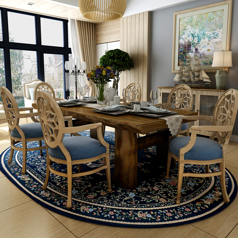 Past Countryside Oval Carpets For Living Room Warm Home Bedroom Rugs And Coffee Table Area Rug Study Floor Mat In Carpet From Garden
