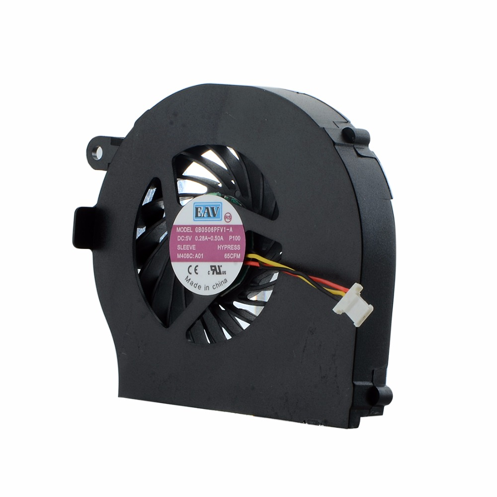 Computer Components Cpu Cooling Fans For HP G72 Compaq CQ72 KSB0505HA-A Series Laptops Replacement Cooler Fan F0683 laptops replacement accessories cpu cooling fans fit for acer aspire 5741 ab7905mx eb3 notebook computer cooler fan f0262