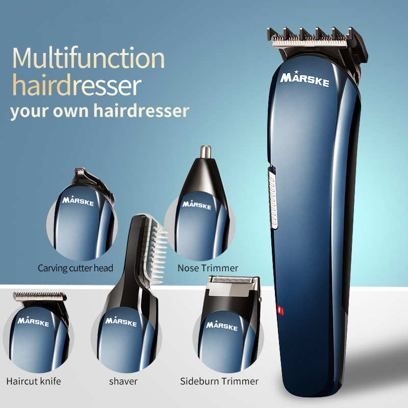Rechargeable Men s Electric Shaver 5 In 1 Shaving Machine Set Hair Nose Trimmer Multifunctional hairdresser