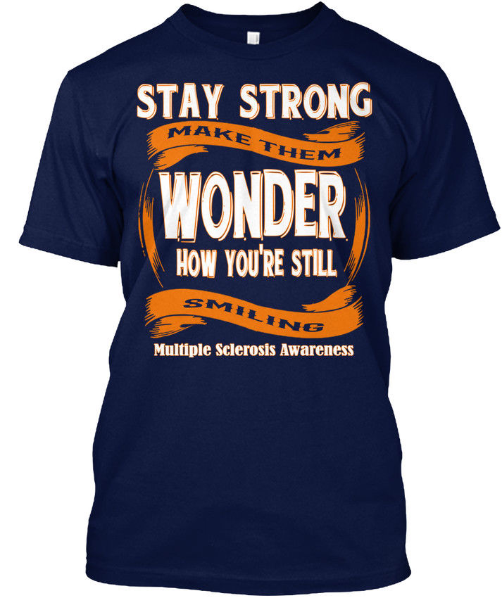 Multiple Sclerosis Awareness Popular Tagless Tee T-Shirt