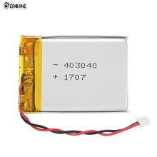 Eachine VR006 3.7V 500mAh Rechargeable LiPo Battery JST-PH 2.0mm 2P Connector(China)