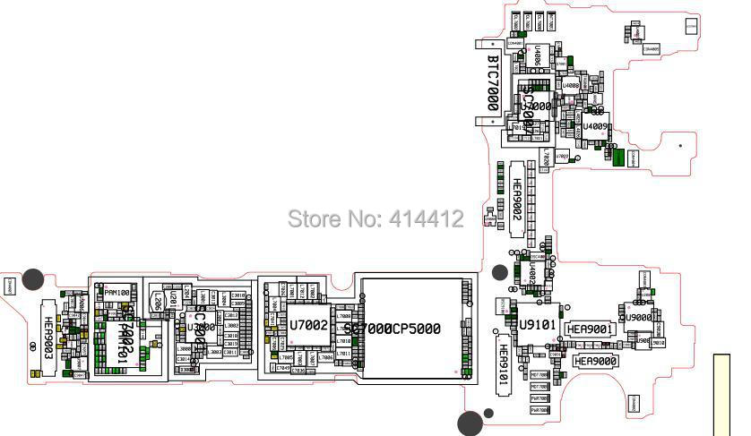 galaxy mega 2 g7509 smart phone repair reference schematic