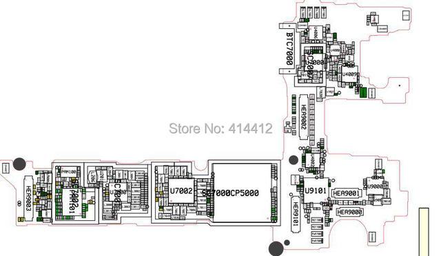 Galaxy Mega 2 G7509 smart phone repair reference Schematic PCB board