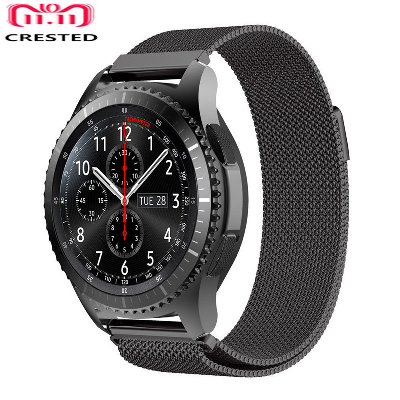 Gear S3 Frontier Strap For Samsung Galaxy Watch 46mm/active 20mm 22mm Watch Band Amazfit Bip/gtr 47mm Huawei Watch Gt Bracelet