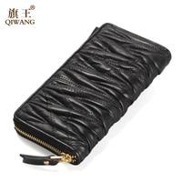 2016 Hot Sales Luxury Brand Fiber Carbon Men Wallet Short Black Cross Pocket Wallet Man Matte