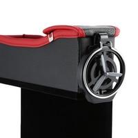 Assento de carro fenda caixa de armazenamento copo bebida titular organizador bolso auto gap tidying para telefone cartão moeda caso acessórios