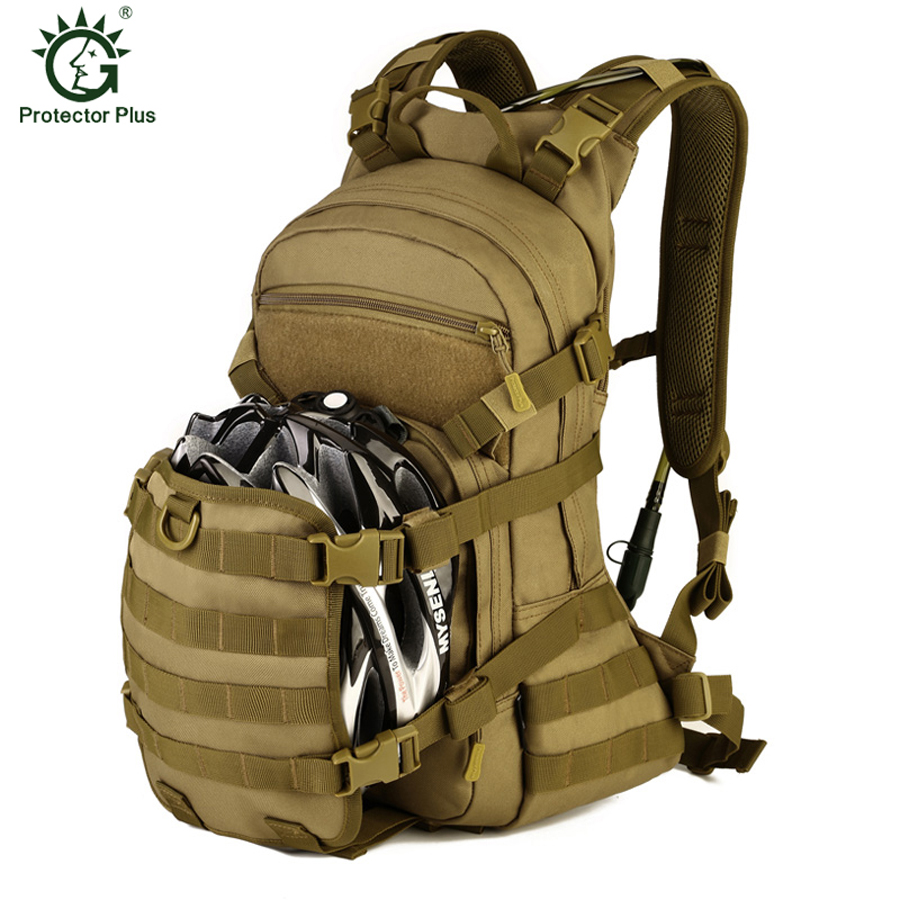 25L Speed Cycling Backpack Outdoor Tactical Militray Backpack Bike Helmet Water Bag Mountaineering Bag Men Sport Travel Rucksack 12l cycling road backpack bike mountaineering rucksack water proof nylon running outdoor ultralight travel water bag helmet bag