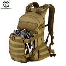 25L Speed Cycling Backpack Outdoor Tactical Militray Backpack Bike Helmet Water Bag Mountaineering Bag Men Sport Travel Rucksack