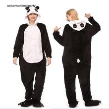 Adult Onesies Panda Pajamas Sleepsuit Sleepwear Anime Cosplay Costume Unisex Cartoon