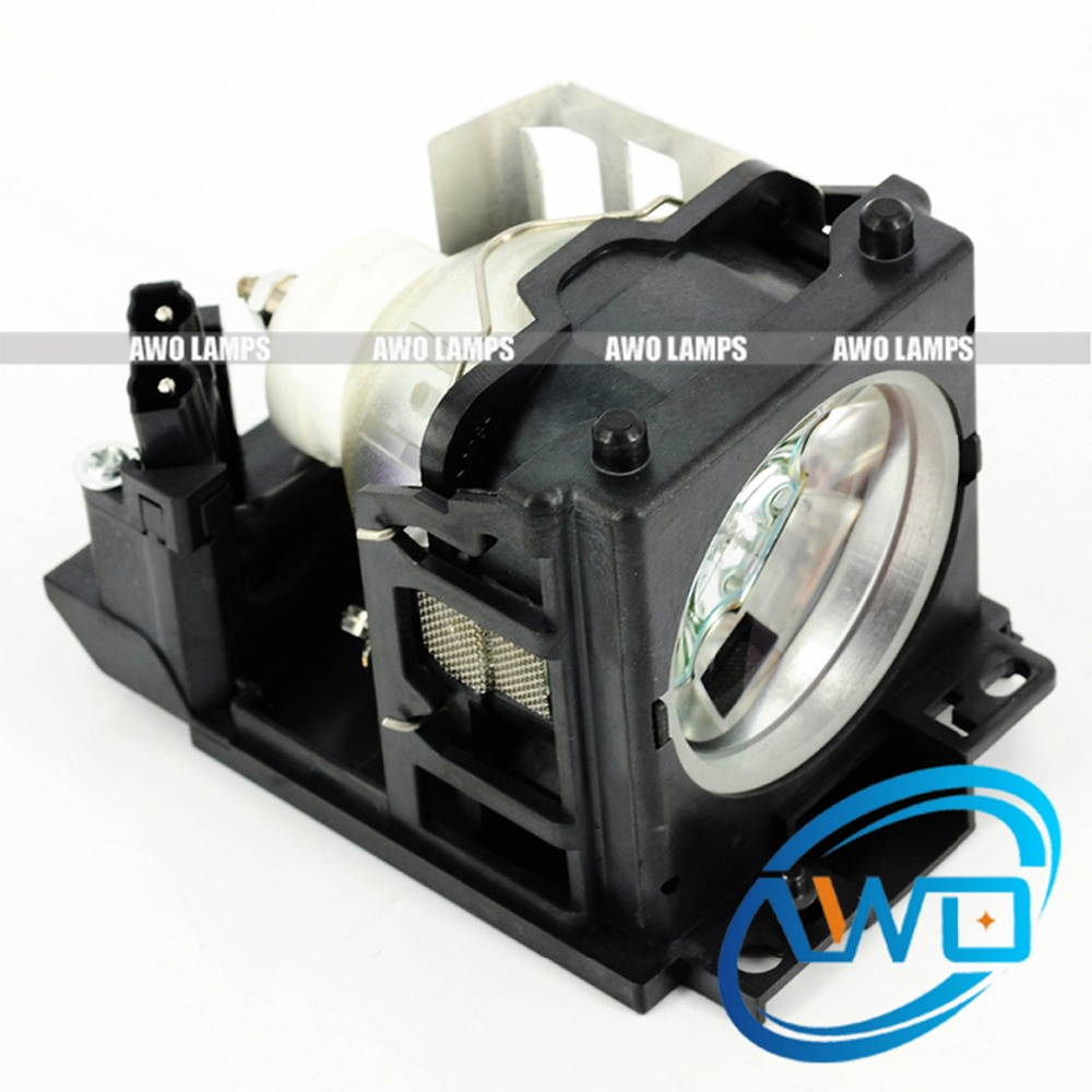 AWO Replacement Projector Lamp DT00691 for HITACHI CP X440