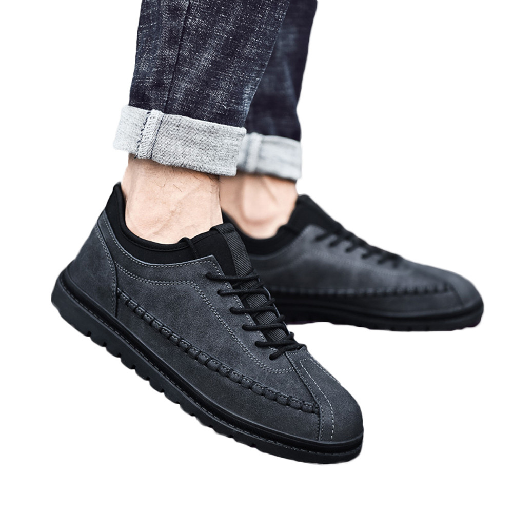 2018 Neue Männer Schuhe Hohe Qualität Casual Männer Schuhe Große Größe Handmade Mokassins Schuhe Für Männliche # L3