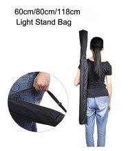 Meking 60 см/80 см/118 см профессиональный свет стенд штатив зонтик оборудование сумка чехол обложка фотографических оборудование