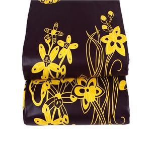 Image 4 - 100% Cotton Ankara African Printing Batik Fabric Real Wax Africa Tissu Sewing Material For Party Dress Artwork Craft DIY Textile