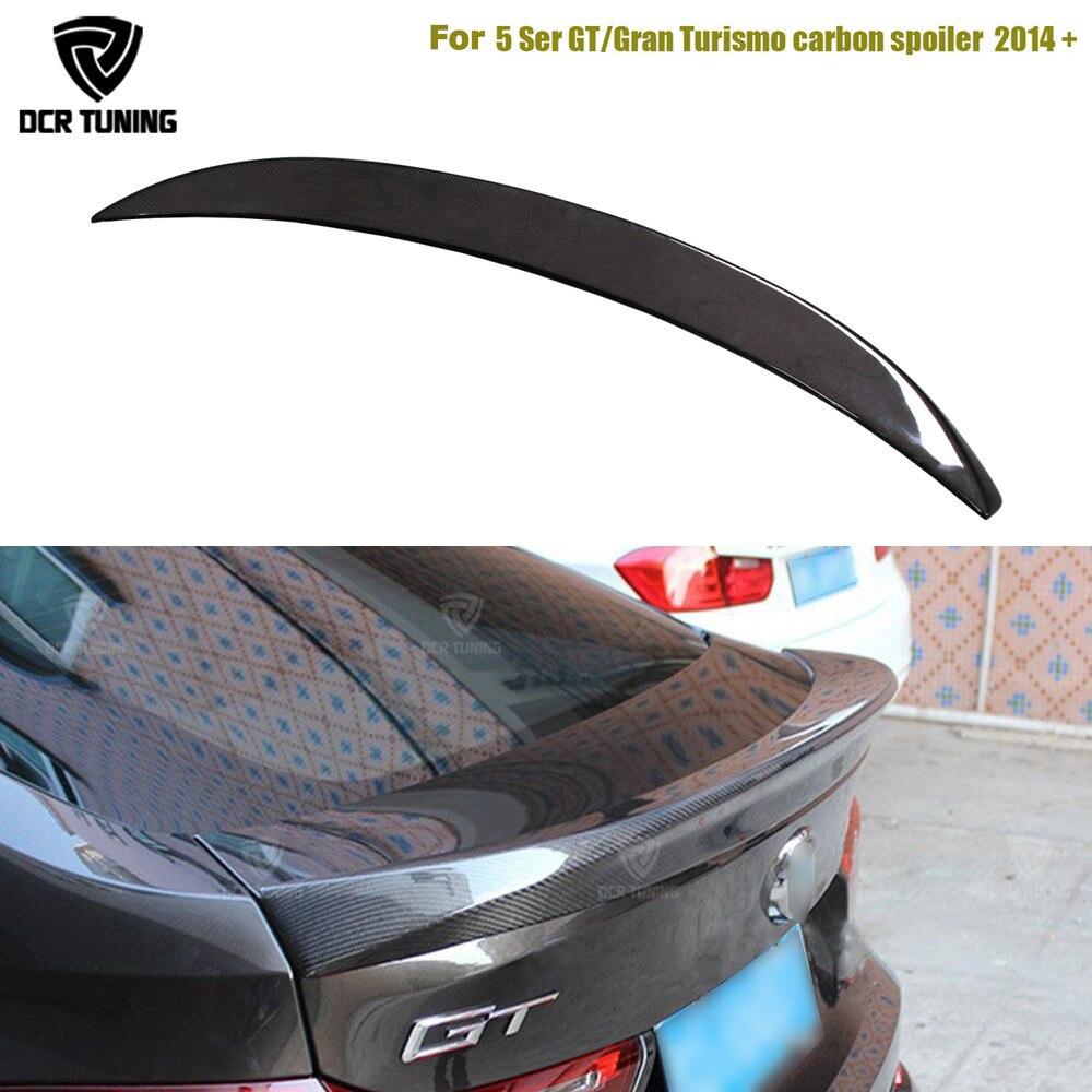AC Стиль заднего крыла Спойлер для BMW 5 серии GT Gran Turismo карбоновое волокно F07 535i 550i 520d 530d 535d 2014 2015 2016 UP