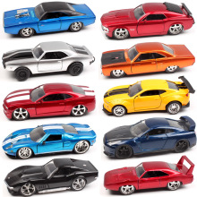 1:32 Scale Jada Plymouth Chevy Belair Camaro Dodge Charger ford mustang Pontiac Nissan GTR Diecasts & Toy Vehicles car model toy 1 32 diecasts