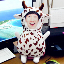 Real doll cow Photo customization pillow  diy star picture dolls pillows birthday Cushion valentines day personality gift