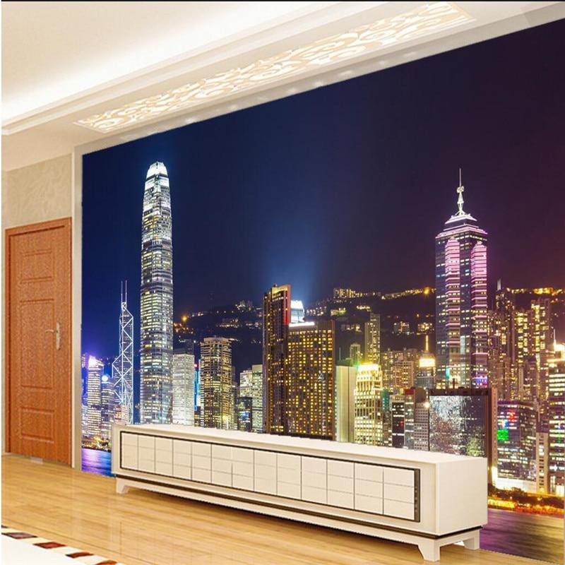Home Design Ideas Hong Kong: Beibehang Large Custom Wallpaper 3d Home Decoration